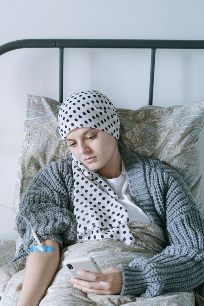 Young Lady in Hospital